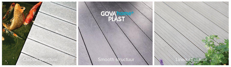 Govadeck terrasplanken uitvoeringen
