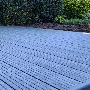Govadeck plank in de kleur mineral grey en de Linea uitvoering