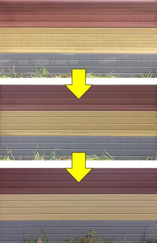 ECOfencing egalisatie kleuren